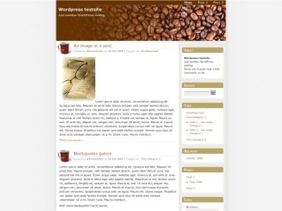 CoffeeSpot Theme