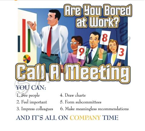 Call A Meeting T-Shirt